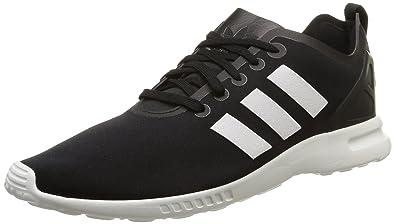 best service f676a b68b9 adidas ZX Flux Smooth, Women s Trainers, Black - Schwarz (Core Black Core