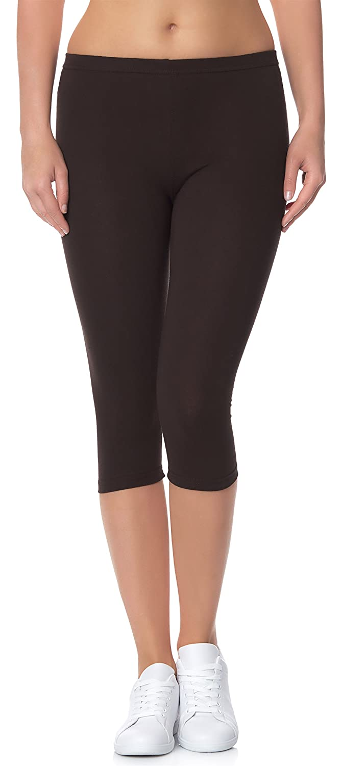 Ladeheid Damen Leggings 3/4 LAMA01