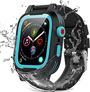 42mm Apple Watch Series Series 3 Series 2 Waterproof Case, Built-in Screen Protector 360 Full-Body Protection, Waterproof Shockproof and Dustproof case for 42mm Apple Watch Series 2/3