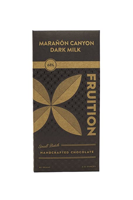 amazoncom fruition maranon dark milk 68 grocery gourmet food