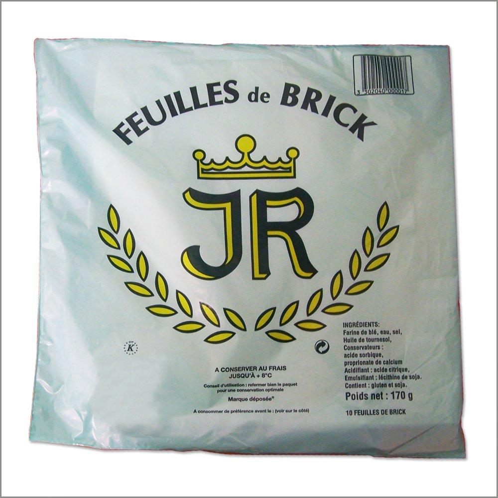 Brick Doughs - Feuilles de Brick - 10 sheets - (Pack of 2) by White Toque (Image #1)
