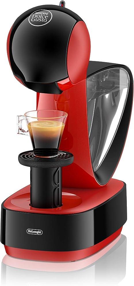 DeLonghi Dolce Gusto Infinissima EDG260.R - Cafetera de cápsulas, 15 bares de presión, color rojo: Amazon.es: Hogar