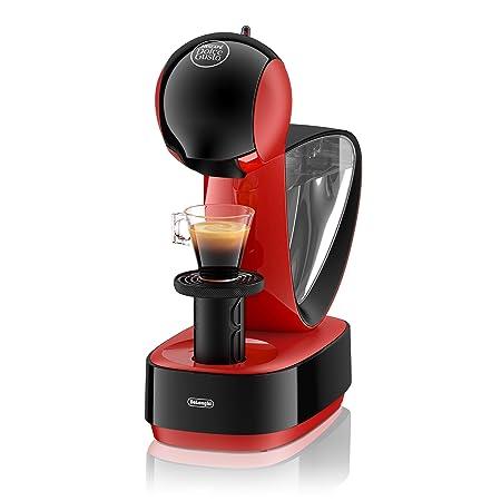 DeLonghi Dolce Gusto Infinissima EDG260.R - Cafetera de cápsulas, 15 bares de presión, color rojo