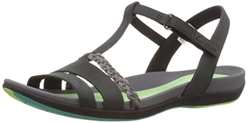 982ece5edb27 Clarks Tealite Grace Womens Casual Sandals 5 Black