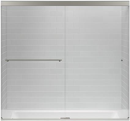 Kohler K 707001 L Bnk Revel Sliding Bath Door With 516 Thick