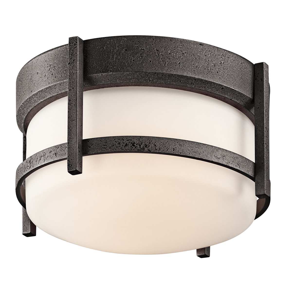Kichler 49125AVI One Light Outdoor Ceiling Mount   Close To Ceiling Light  Fixtures   Amazon.com