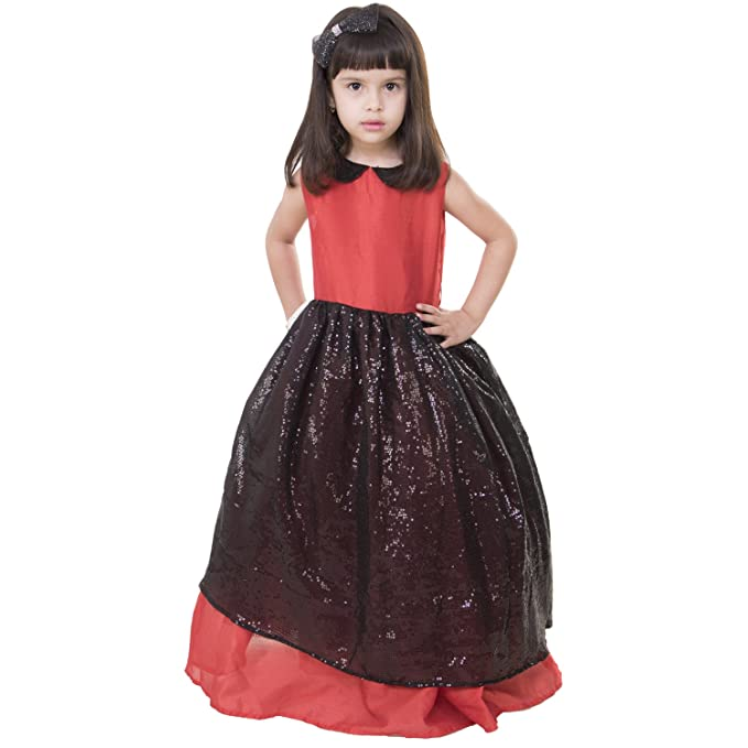 877efbcf622d Samsara Couture Baby Girls Birthday Party wear Dress Black and Red ...