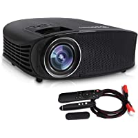 DHAWS 720p 1080P-Lumens LCD Projector