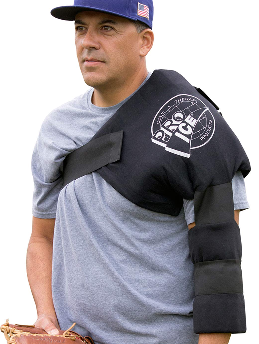 Pro Ice Cold Therapy Wrap for PRO Shoulder Elbow Arm Ice Pack PI240 to Treat Rotator Cuff Injury with Icing and Compression