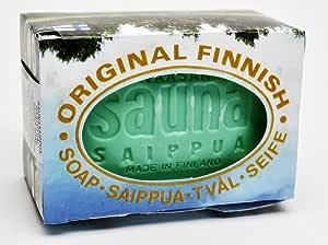 Traditional Pine Sauna Soap by Vaasa Old Soap Company