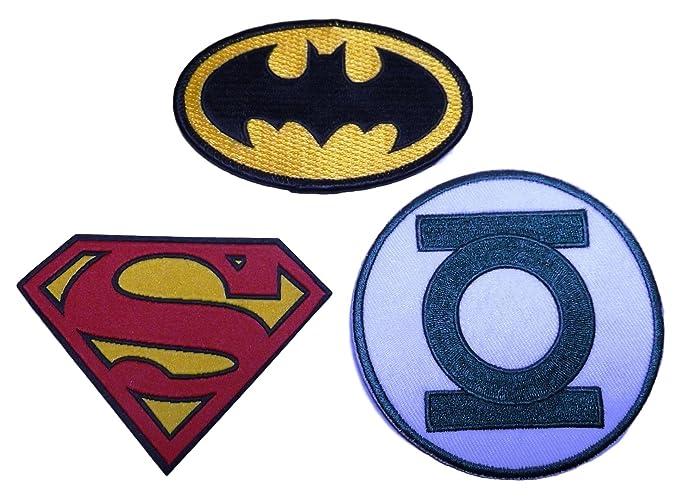 Amazon Superman Batman Green Lantern Set Of 3 Shield Chest