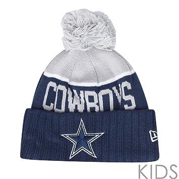 a613ba6b0b5 New Era NFL SIDELINE KIDS Beanie - Dallas Cowboys  Amazon.co.uk ...