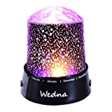 Amazon Price History for:Wedna LED Star Light Projector Baby Nursery Night Light Relaxing Sleep Aid Lamp Best Christmas Gift for Kids Children
