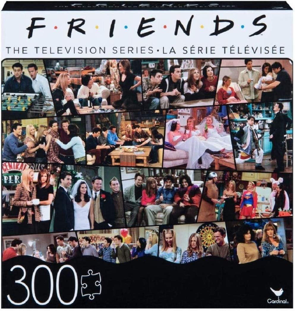 Friends TV Show Collage Jigsaw Puzzle 300 Pieces