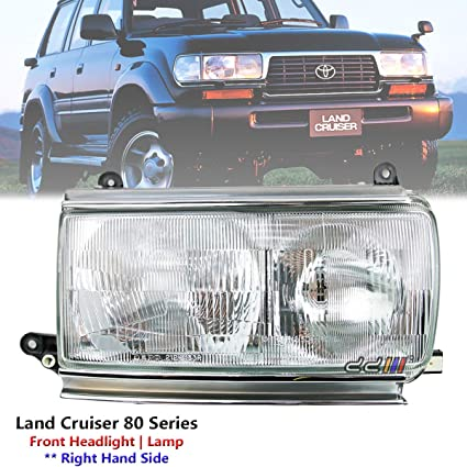 Amazon com: Replacement Front Right Headlight Lamp For Toyota Land