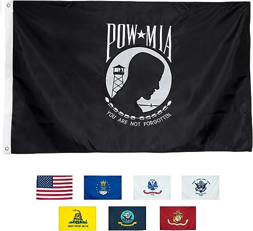 3x5 Solid Plain Black Printed 210D Nylon Flag 3/'x5/' Advertising Banner