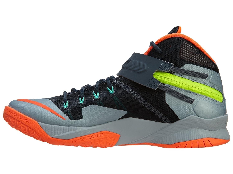 Nike Hombres de Zoom Soldado VIII PRM Zapatillas de Baloncesto, Gris (Gris), 10,5 D(M) US: Amazon.es: Zapatos y complementos