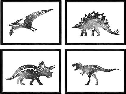 Nacnic Pack De Posters De Dinosaurios Blanco Y Negro Laminas De Dinosaurios Para Ninos Tamano A4 Amazon Es Amazon Es Ejemplo blanco y negro divertido del vector del dinosaurio de la historieta linda para el arte que colorea. nacnic pack de posters de dinosaurios blanco y negro laminas de dinosaurios para ninos tamano a4
