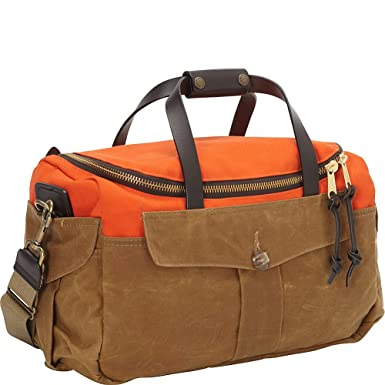 Amazon.com   Filson 70073 Original Sportsman Bag - Heritage - Orange ... ea20b5c18b