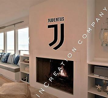 Juventus FC Calcio Italy Soccer Wall Decal Decor For Home Car Laptop Sports