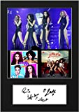 LITTLE MIX #7 Signed Mounted Photo A5 Print