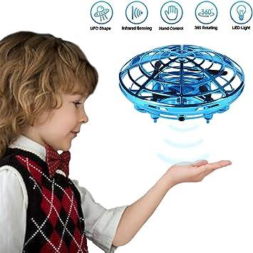 Mini Drone UFO para Niños - 360° Rotación Avión Volador Juguete ...