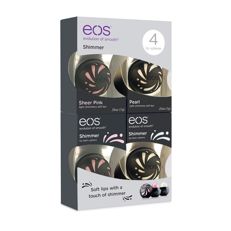 EOS Shimmer Lip Balm (.25 oz., 4 pk.)