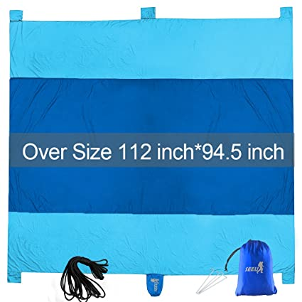 Sports & Entertainment Sand Free Beach Mat Blanket Sand Proof Magic Sandless Outdoor Blanket Portable Picnic Mat Camping & Hiking