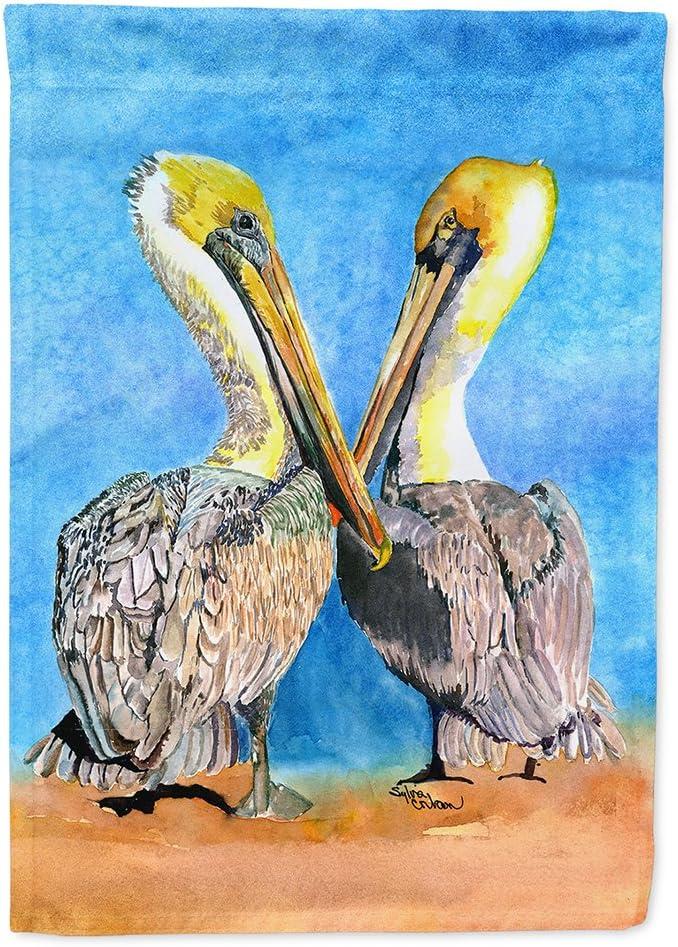 Caroline's Treasures 8539GF Pelican Flag Garden Size, Small, Multicolor
