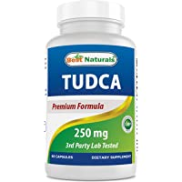 Best Naturals TUDCA 250mg (Tauroursodeoxycholic Acid) - 60 Veg Capsules - 2 Months Supply