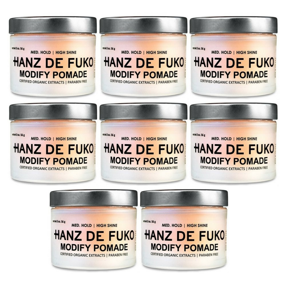 Hanz de Fuko Modify Pomade, 2 oz. (8 pack)