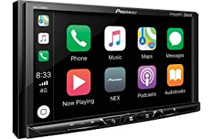 "Pioneer MVH-AV251BT 7"" WVGA Display Digital Multimedia Video Receiver, Apple CarPlay, Android Auto, Built-in Bluetooth, SiriusXM-Ready, AppRadio Mode, Pandora, Spotify, iDataLink Maestro and MIXTRAX"