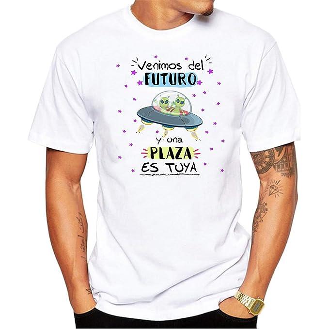 MardeTé Camiseta Opositor. Venimos del Futuro y una Plaza es ...