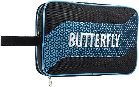 Butterfly 8741B Melowa se Adapta a Dos Raquetas, Cuatro Pelotas, Incluye Cuatro Bolsillos pequeños Accesorios DX, 2 Palas: Amazon.es: Deportes y aire libre