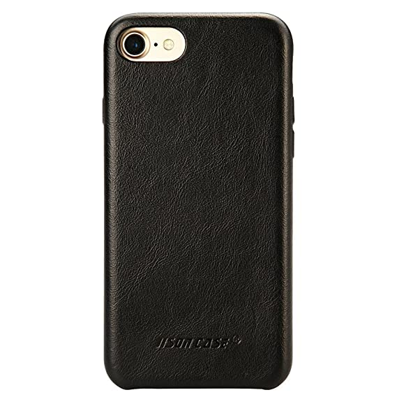 iphone 7 case black leather