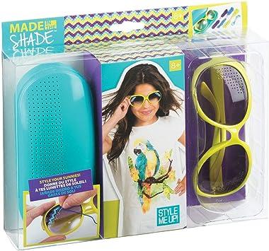 Style Me Up - Gafas de Sol para niñas, Juego DIY diseño de modas, Color Verde, Estuche turquesa - Moda para niñas - SMU-313: Amazon.es: Juguetes y juegos