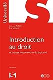 Introduction au droit et thèmes fondamentaux du droit civil (Université)