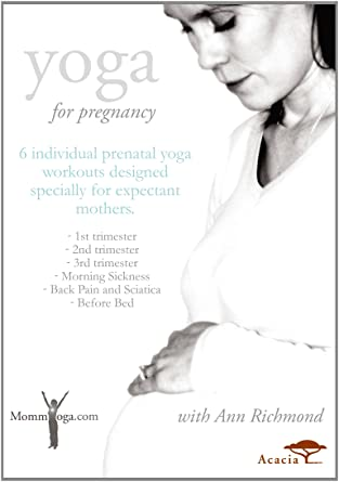 Amazon.com: Yoga for Pregnancy with Ann Richmond [DVD ...