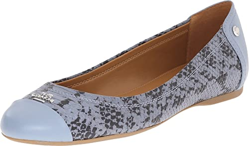 Womens Shoes COACH Chelsea Cornflower/Cornflower Snake/Matte Calf