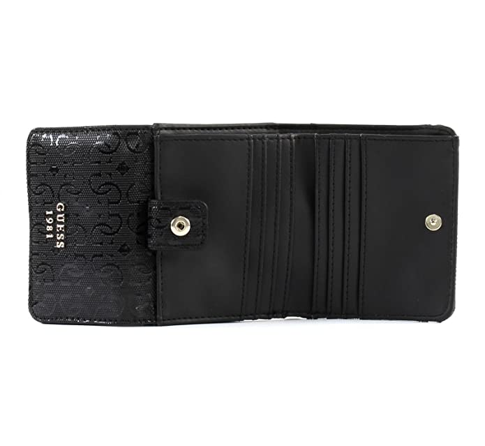 outlet store 3bb7e 586ed Guess Jayne SLG Card  Coin Purse Black