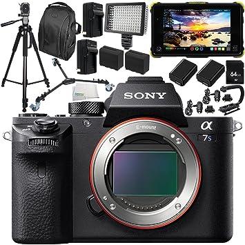 Amazon.com : Sony Alpha a7S II Mirrorless Digital Camera ...