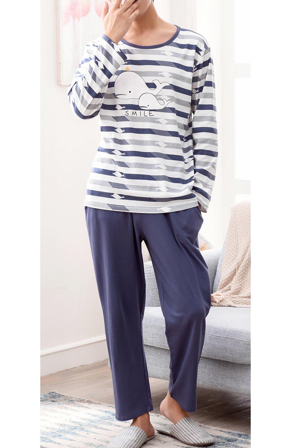 BYX SweetLeisure Big Boys Loose Cute Cotton Pajamas Leisure Wear 10-16 Years by BYX SweetLeisure (Image #3)