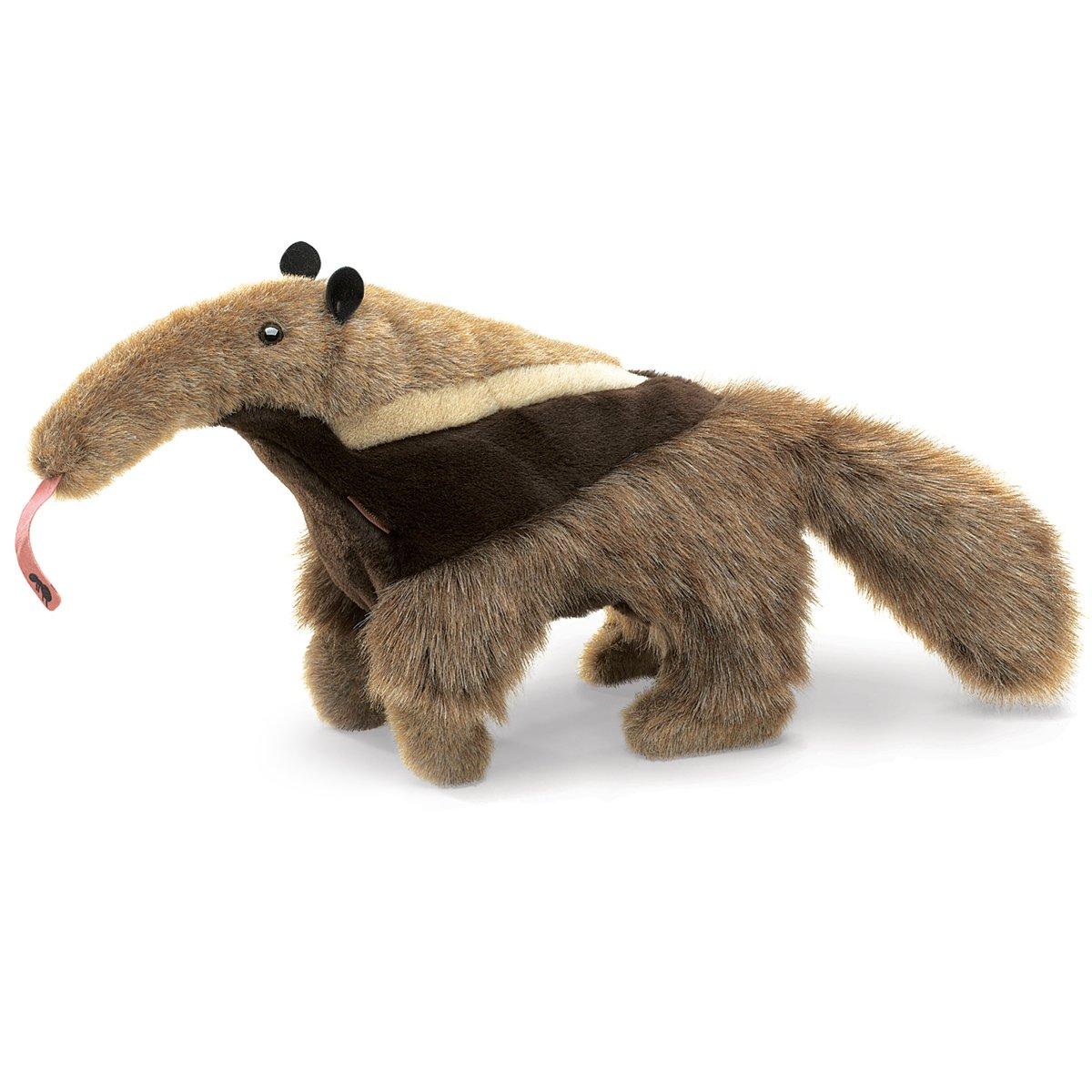 Folkmanis Stofftier, Motiv: großer Ameisenbär, Handpuppe Folkmanis Puppets 2973
