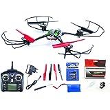 efaso Quadcopter WLToys V636 – Skylark – 2,4 GHz, 6-Achsen Quadrocopter mit Wasserpistole, Headless-Mode, Flip-Funktion, LED-Beleuchtung, 4 Geschwindigkeitsmodi und Rotorschutz inkl. Batterien für Fernsteuerung