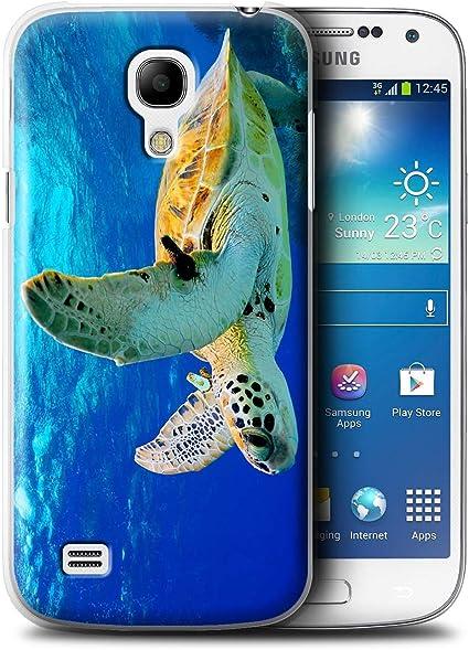 Stuff4 Coque de Coque pour Samsung Galaxy S4 Mini/Tortue Design/Animaux Sauvages Collection