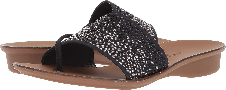 Paul Green Women's Pixie Slide Slipper B075RDMXSG 6.5 B(M) US|Blue Soft Nubuck