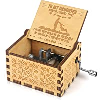 Amazon Price History for:Kafete Music Box Hand Crank Engraved Musical Box-U R My Sunshine Mechanism Antique Vintage Personalizable Gift for…
