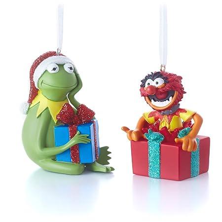 Hallmark Disney Muppets Kermit and Animal Christmas Ornaments, Set of 2 - Hallmark Disney Muppets Kermit And Animal Christmas Ornaments, Set