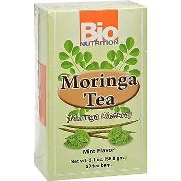 Amazon.com: Bio Nutrición bolsas de té – Moringa Menta – 30 ...
