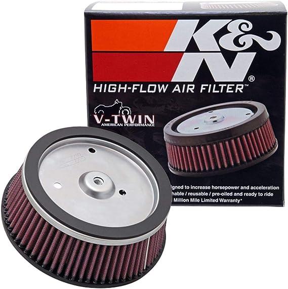 K/&N Chrome Oil Filter for 2007-2008 Harley Davidson Screamin Eagle Ultra Classic